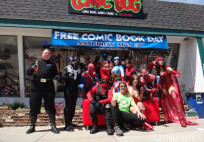 Free Comic Book Day 2014 cosplay
