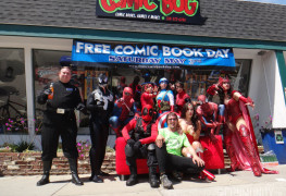 Free Comic Book Day 2014 cosplay