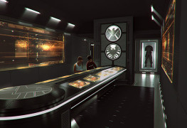 Marvel Avengers S.T.A.T.I.O.N. - Induction room